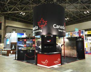 ツーリズムEXPO カナダブース 2014